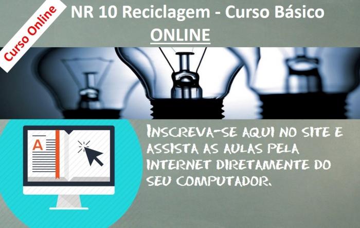 NR 10 Reciclagem - Curso Básico ON LINE