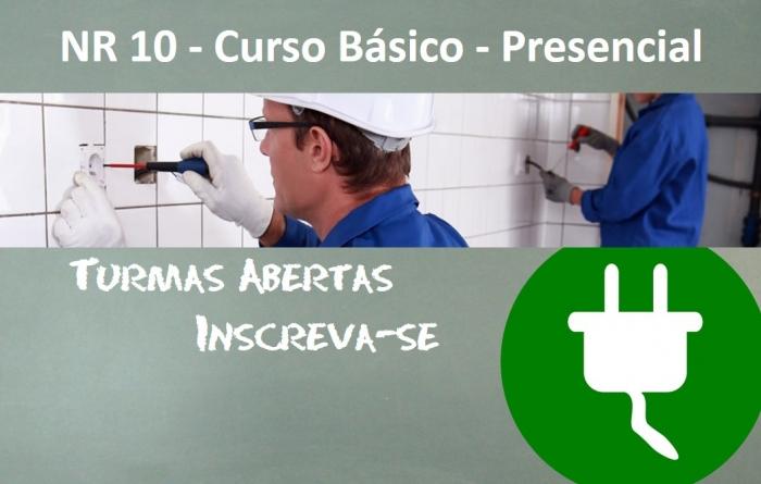 NR 10 - Curso Básico - Presencial - 40 Horas
