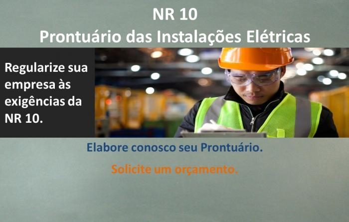 NR10 - Prontuário das Instalações Elétricas